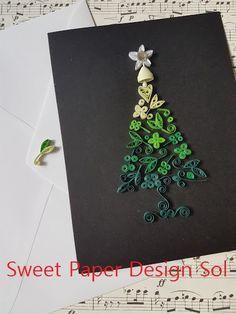 Paper Quilling Handmade beautiful Christmas от SweetPaperDesignSol