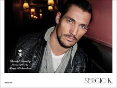 Sergio's Man–Terry Richardson photographs David Gandy for Sergio K's fall 2011 campaign. Deliciously inappropriate, David takes Sergio K's current lineup from… Famous Male Models, Top Male Models, Terry Richardson, Black Dagger Brotherhood, The Fashionisto, David James Gandy, British Men, Hottest Models, Perfect Man