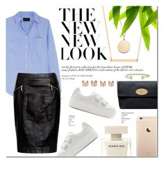 """""""Today's Look"""" by stellaasteria ❤ liked on Polyvore featuring J.Crew, MICHAEL Michael Kors, Kenzo, BaubleBar, Stella & Dot, Mulberry, Maison Margiela, David Yurman, women's clothing and women's fashion"""
