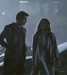 Teen Wolf 6x20 gif - Stiles and Lydia