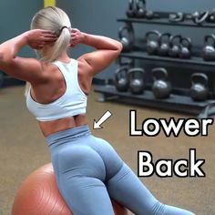 Back Exercises Exercises to Get Rid of Lower Back Fat Here are exercises to get rid of lower back fat!Exercises to Get Rid of Lower Back Fat Here are exercises to get rid of lower back fat! Fitness Workouts, Sport Fitness, Body Fitness, Physical Fitness, Health Fitness, Fitness Games, Squats Fitness, Fitness Style, Fitness Design
