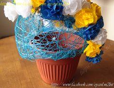 Carnation paper flower - Minh Handmade