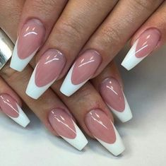 French Tip Acrylic Nail Designs Gallery french nails french tip nail designs work nails french French Tip Acrylic Nail Designs. Here is French Tip Acrylic Nail Designs Gallery for you. French Tip Acrylic Nail Designs seo title white tip nails ne. French Tip Nail Designs, French Tip Nails, Acrylic Nail Designs, Nail Art Designs, White French Nails, Nails Design, Design Art, Design Ideas, Cute Nails