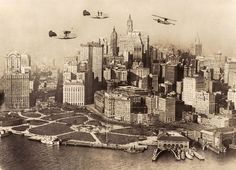 <b>The city has undergone some major changes since the Roaring '20s.</b> RIP old Penn Station.