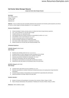 Call Center Job Resume Pinjobresume On Resume Career Termplate Free  Pinterest .
