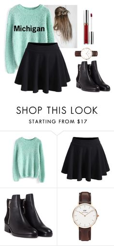 """""""Winter#6"""" by luciernld on Polyvore featuring mode, Chicwish, WithChic, 3.1 Phillip Lim, Daniel Wellington et Anastasia Beverly Hills"""