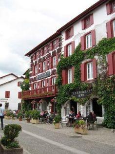 Espelette Basque country, Aquitaine FRANCE pais vasco, francia