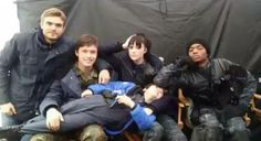 The 5th Wave cast So cute :3 ❤❤❤❤  Zombie, Ringer, Evan,Samms, Cupcake