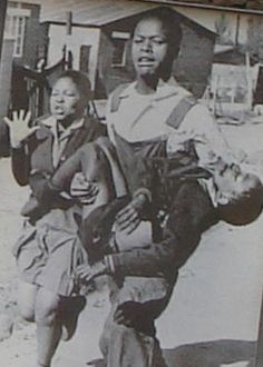Hector Pieterson, who was born in was one of the first schoolchildren to be shot on 16 June he was just 13 years old. The iconic picture, taken by Sam Nzima, of a dying Hector being carried by Mbuyisa Makhubo with his sister, Antoinette Sithole Les Aliens, Black History Facts, African Diaspora, Interesting History, African American History, Thing 1, World History, Black People, Black Is Beautiful