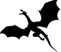 Free vector graphic: Animal, Beast, Creature, Dragon - Free Image on Pixabay - 2029670 Dragon Birthday Parties, Dragon Party, Dragon Images, Dragon Pictures, Fantasy Creatures, Mythical Creatures, Fairy Silhouette, Silhouette Vector, Small Dragon Tattoos