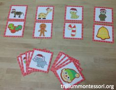 """""""Feed the Animals"""" December Initial Sound Matching (from Trillium Montessori)"""