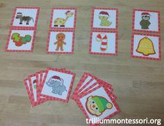 December Phonological Awareness Flash Freebie — trilliummontessori.org