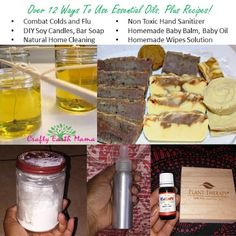 Essential Oils /  12 Ways to Use Essential Oils / Homeopathy