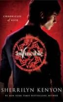 {Urban Fantasy} Second book in the Chronicles of Nick series by Sherrilyn Kenyon, Invincible.