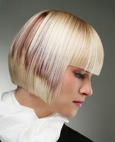 super straight bob hairstyle