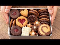 いちごジャムサンドクッキーの作り方 Strawberry Jam Sandwich Cookies HidaMari Cooking - YouTube Sandwich Cookies, Cake Cookies, Cookie Desserts, Cookie Recipes, Bebidas Detox, Bakery Packaging, Homemade Sushi, Butter Cookies Recipe, Cookie Box