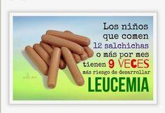 EL PELIGRO DE LOS EMBUTIDOS riesgo para el cáncer infantil. (ojo mamás y papas lean y compartan). - Lógica Ecológica