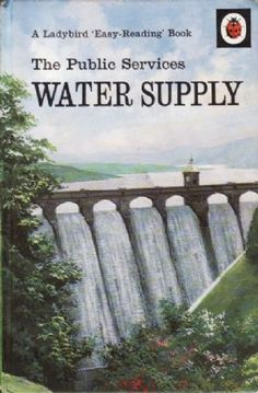 WATER SUPPLY Vintage Ladybird Book Public Service Series 606E