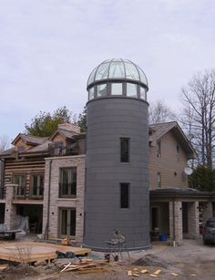 Silo Glass Conservatory Dome | Tanglewood Conservatories