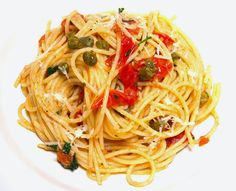 Blond Kitchen: Puttanesca spagetti