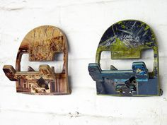 NEW! Recycled Skateboard Wall Hook by deckstool on Etsy, $35.00