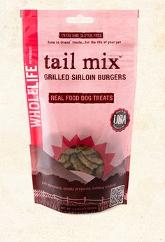 Whole Life Grilled Sirloin Burgers Tail Mix Freeze-Dried Dog Treats Burger Dogs, Burgers, Mixed Grill, Healthy Pets, Freeze Drying, Dog Treats, Real Food Recipes, Grilling, Frozen