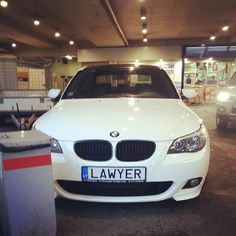 LAWYER number plate