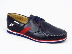 Pantofi barbati piele albastri sport Gregory  Material exterior:piele naturala premium.  Material interior:piele fina.  Talpa foarte comoda, calitate superioara.Sunt ideali a fi purtati la evenimente speciale dar si in viata de zi cu zi, datorita calapodului foarte comod.  Produs