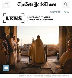 Published in the New York Times on Lens Blog today !! Christmas returns to a city liberated from ISIS. http://ift.tt/2BSbm46  @brassagephoto @nytimes  #nytimes #lens #reportage #report #iraq #baghdeda #qaraqosh #brassagephoto