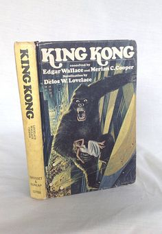 Vintage Hardcover King Kong 1976 Edition by modluv on Etsy, $7.00