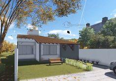 Planta de Casa - Casa com ampla varanda Gourmet - Foto 1