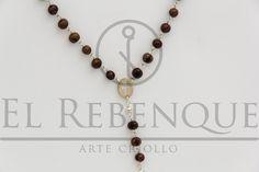 Rosario de semillas y alpaca Wordpress, Drop Earrings, Jewelry, Fashion, Rosaries, Presents, Moda, Jewlery, Bijoux