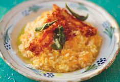 Jamie Oliver recipe - Butternut squash Risotto with crispy pancetta & sage - for Mouths of Mums