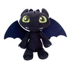 Pelúcia Dreamworks Como Treinar Seu Dragão 2 Banguela Toothless Chibi 15cm…