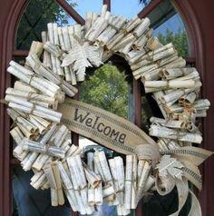 old books reused