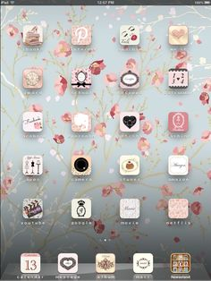 Cocoppa on my ipad mini ♡