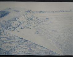 Draw, sea, beach