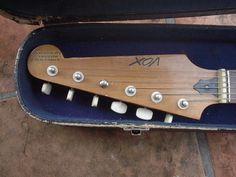 Headstock of Vox 'Shadow' LG-40, buit by Guyatone.