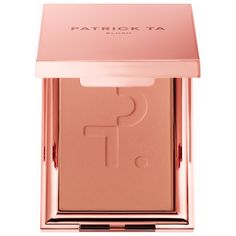 Shop PATRICK TA's Monochrome Moment - Velvet Blush at Sephora. This creamy, smooth, and seamless cheek color glides onto the skin and melts upon contact for a flawless, second-skin finish. Patrick Ta, Jouer Cosmetics, Cosmetics Industry, Pigment Coloring, Blush Makeup, Hair Makeup, Light Peach, Cool Tones, Makeup Products