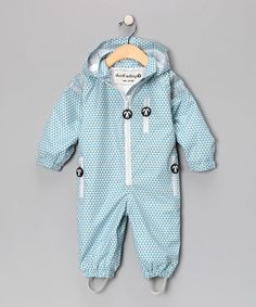 Ducksday Ace Rain 'N' Snow Suit for infant, toddler and kids. SO cute!