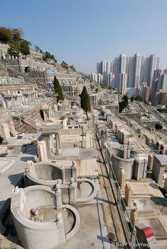 Hong Kong Chinese cemetery.