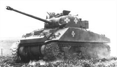 Beutepanzer : This one being a captured Sherman