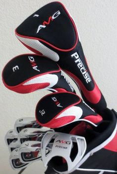 Senior Mens Complete Golf Set Right Handed Clubs Driver, Fairway Wood, Hybrid, Irons, Sand Wedge, Putter & Deluxe Stand Bag Superior Quality Senior Flex Golf Equipment Precision Golf http://www.amazon.com/dp/B00GDYWB54/ref=cm_sw_r_pi_dp_ss5qwb166WM4C
