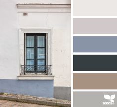 street tones -- a good palate for our kitchen.  It has the gray thing going....  good with that muted blue.