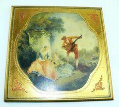 Vintage Fratelli Alinari Gold Florentine Toleware Italian Wood Wall Plaque #1 | eBay  -  SOLD