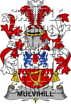 Mulvihill Family Crest apparel, Mulvihill Coat of Arms gifts
