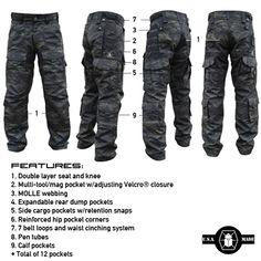 MultiCam Black Kitanica All Season Pants.
