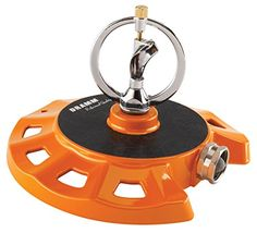 Dramm 15072 ColorStorm Spinning Sprinkler, Orange -- A special product just for you. See it now! : Gardening DIY