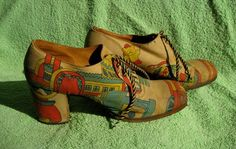shoes sold through cult boutique Granny takes a trip in the late 60s/early 70s