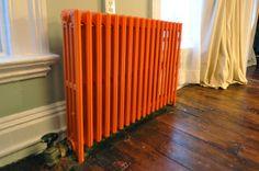 orange radiator by brick city love, via Flickr